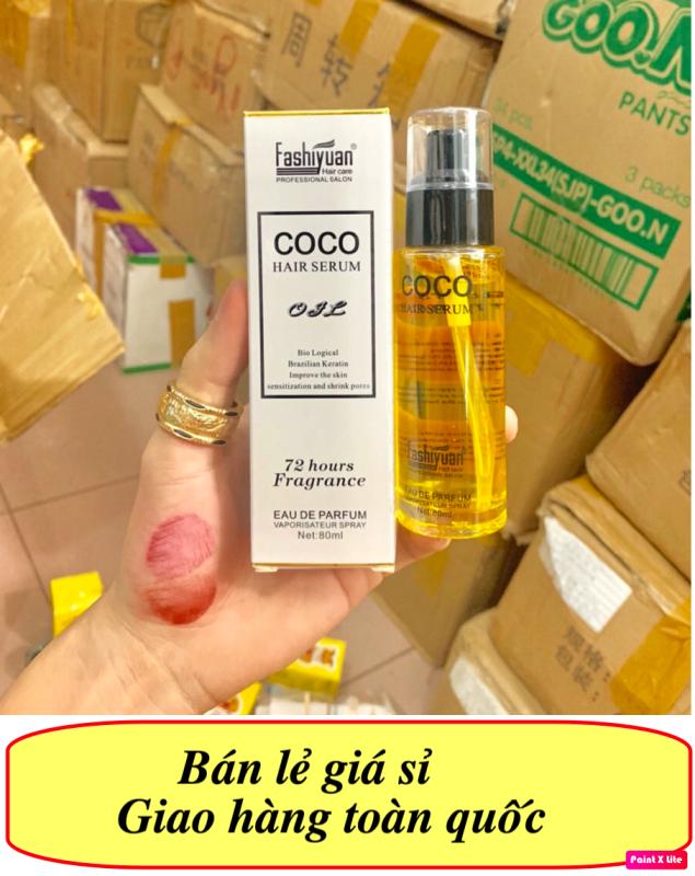 [CHUYÊN SỈ] Serum Dưỡng Tóc Coco Macxi Hương Nước Hoa, serum dưỡng tóc COCO