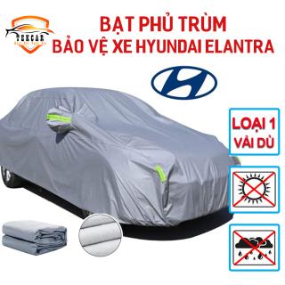 [HYUNDAI ELANTRA] Bạt vải dù oxford bảo vệ xe ô tô Hyundai Elantra phủ trùm kín cao cấp , áo trùm xe 5 chỗ chống nắng, chống nóng, chống xước, chống mưa ngoài trời, bề mặt ngoài mịn bóng , bac phu oto, xe hơi thumbnail