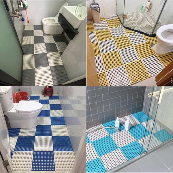 Miếng lót sàn chống trơn trượt cho nhà tắm, nhà vệ sinh, nhà bếp(30x30cm)
