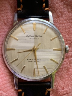Đồng hồ nam CITIZEN DELUXE 21 jewels - Nhật thumbnail