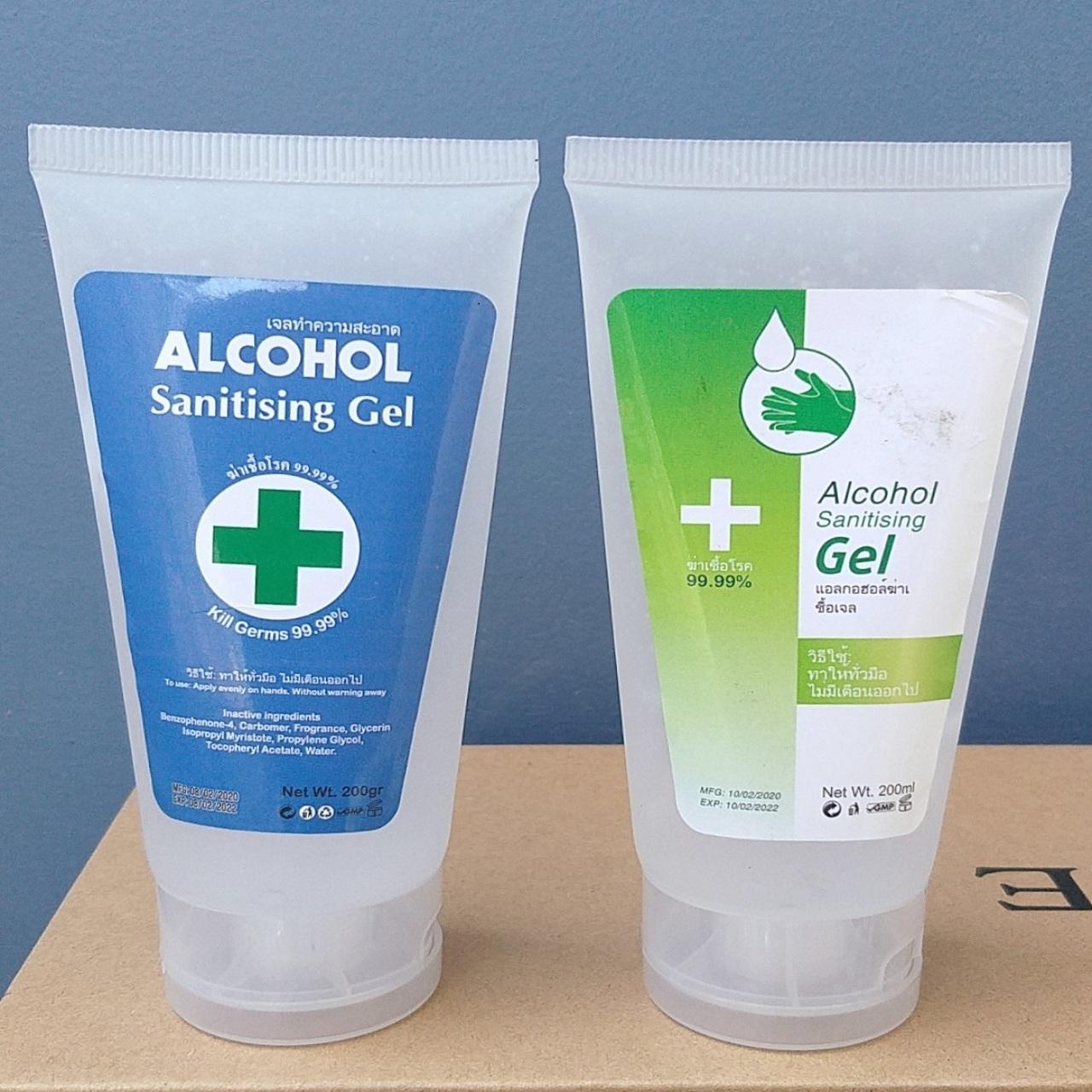 Gel rửa tay khô Alcohol diệt khuẩn 99,99% Thái 200ml nhập khẩu