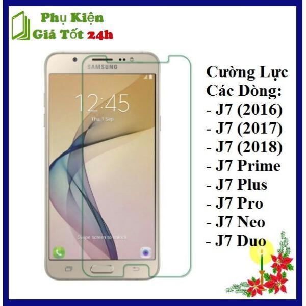 [Tặng Miếng Lau] Kính Cường Lực Cho Samsung J7 Prime / J7 2016 / J7 2017 / J7 2018 / J7 Pro / J7 Plus / J7 Duo / J7 Neo