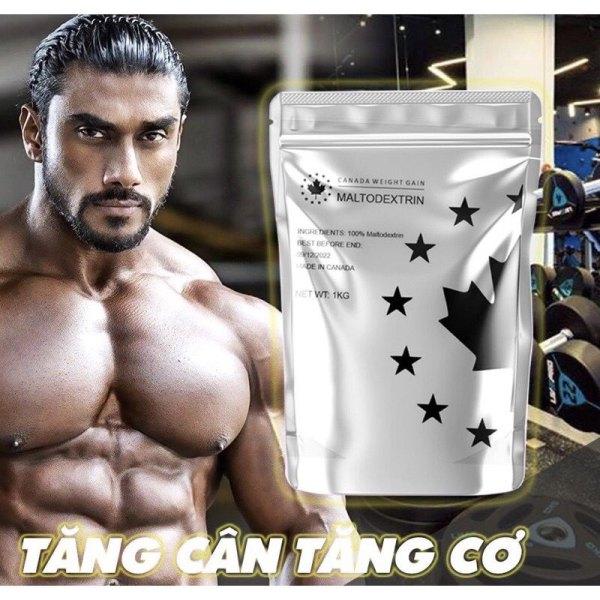 [HCM]Sữa Tăng Cân Maltodextrin Túi 1 Kg ( Khi Mua 2 Túi Tặng 1 Bình Lắc ) nhập khẩu