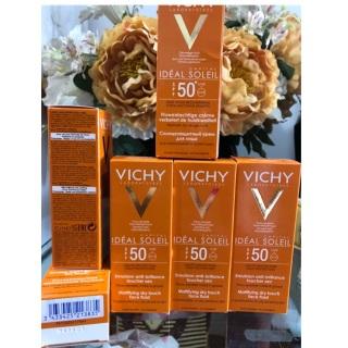 Kem chống nắng Vichy 50ml hàng pháp không đổi trả da khô, cam kết hàng đúng mô tả, chất lượng đảm bảo an toàn đến sức khỏe người sử dụng thumbnail