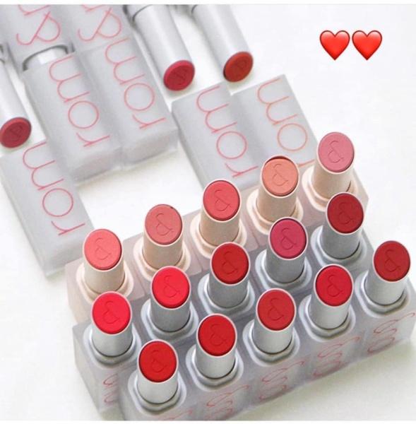 Son thỏi lì Romand New Zero Matte Lipstick 3g
