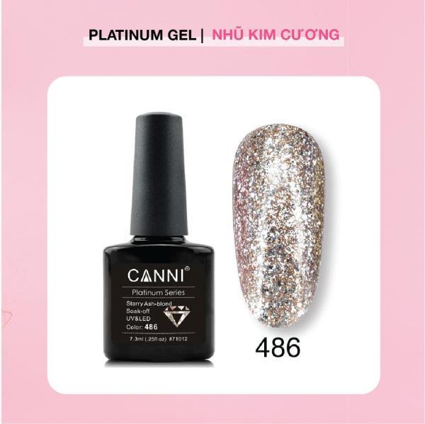 CANNI Platinum Nhũ Kim Cương 7.3ml tốt nhất