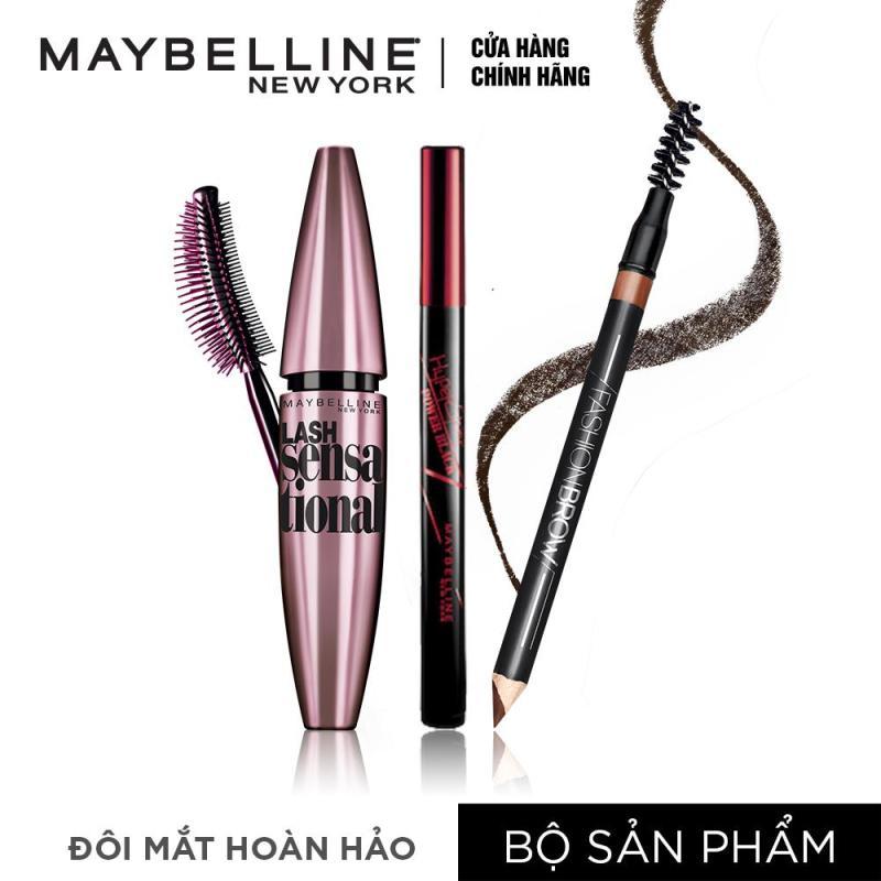 Bộ 3 sản phẩm đôi mắt hoàn hảo Maybelline nhập khẩu