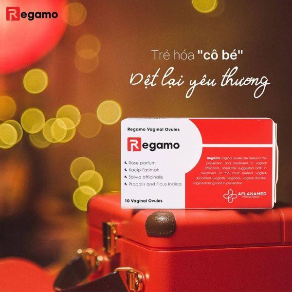 Regamo sản phẩm dành cho phái đẹp cao cấp