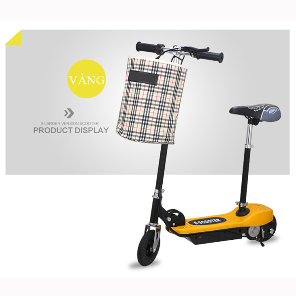 Mua Xe điện mini E-SCOOTER có thể gấp gọn, dành cho người lớn và trẻ em, tải trọng 80kg, Công suất 200W, Bảo hành 2 năm