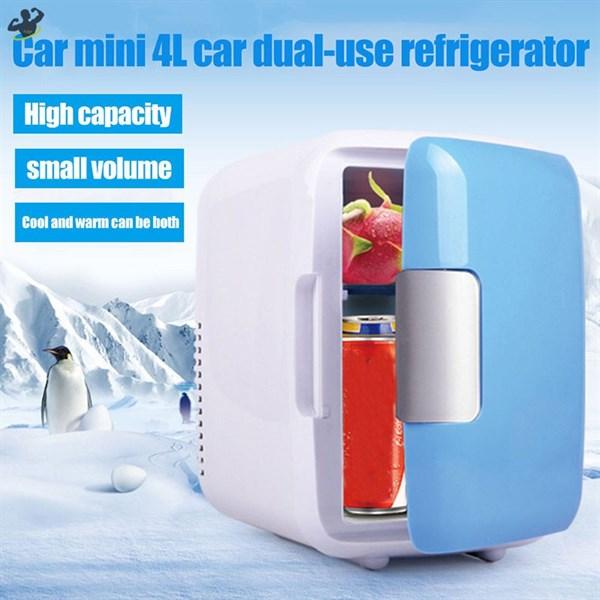 Bảng giá Tủ lạnh Mini 2 Chế Độ Nóng Lạnh 4 lít  MR-TL4L Cho Gia Đình .Tủ Lạnh Mini Dành Cho Ôtô Điện máy Pico
