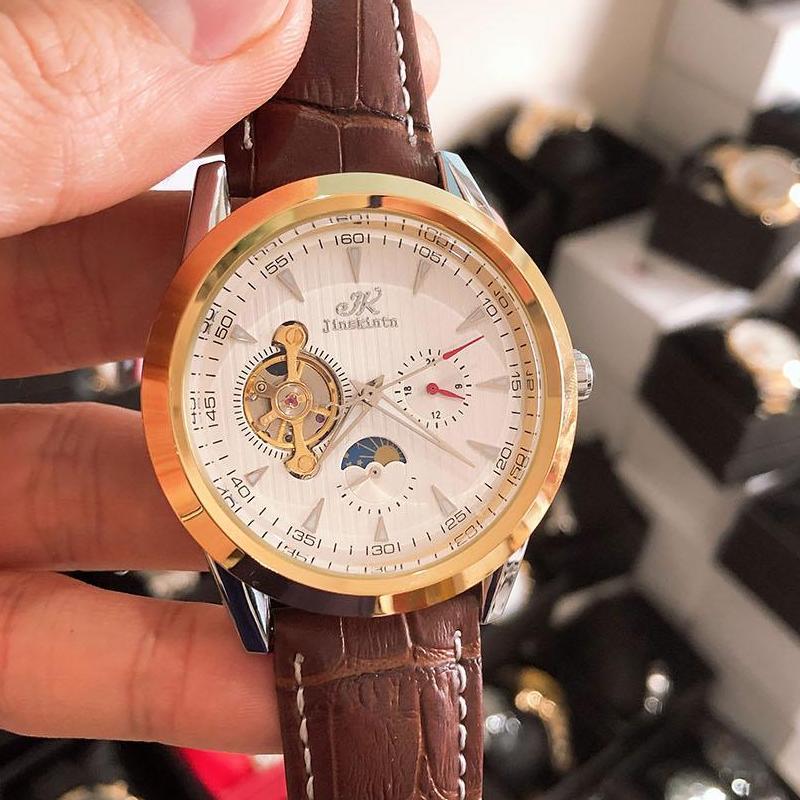 Đồng hồ Jenskinst cơ tự động lộ máy cao cấp bán chạy