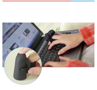 Chuột không dây thông minh đeo trên ngón tay cực độc thumbnail