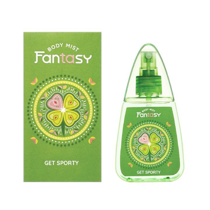 Nước hoa toàn thân Fantasy - Get Sporty 100ml chính hãng