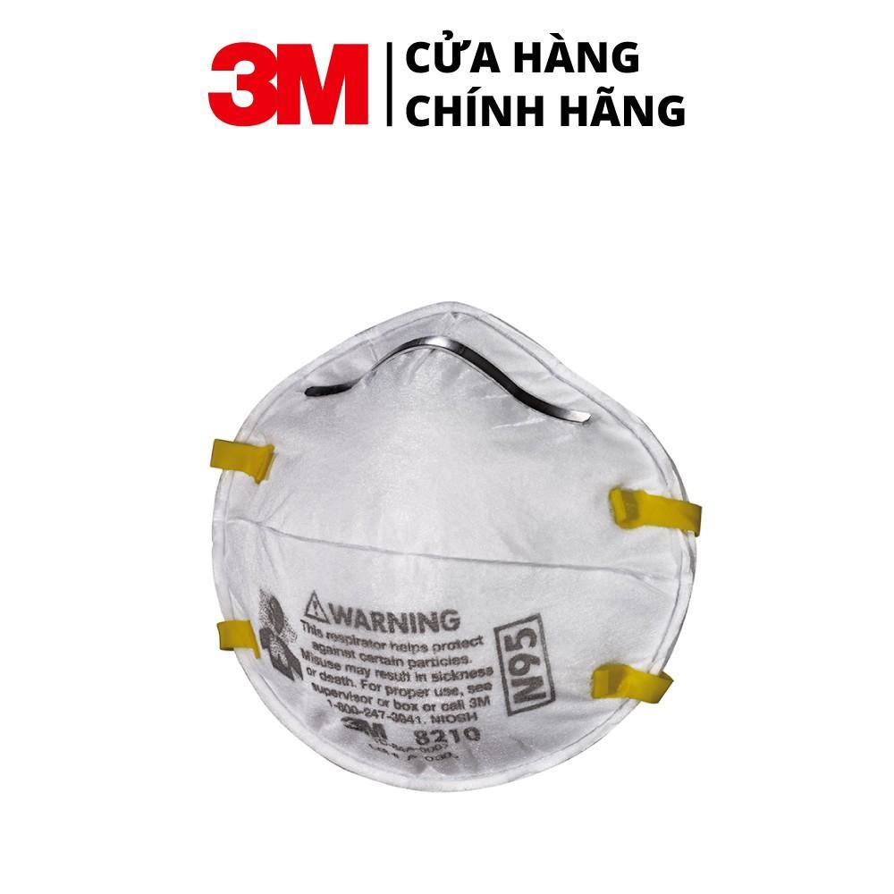 Combor 5 Khẩu trang 3M 8210 chống bụi Mịn PM2.5, các loại khói bụi hoá học, than và virus, vi khuẩn