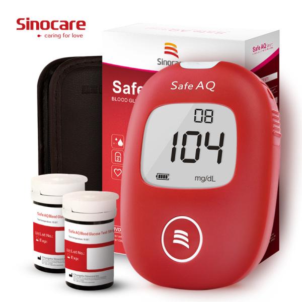 Nơi bán Bộ máy đo đường huyết Sinocare Safe AQ tặng 25 que thử và 50 kim lấy máu