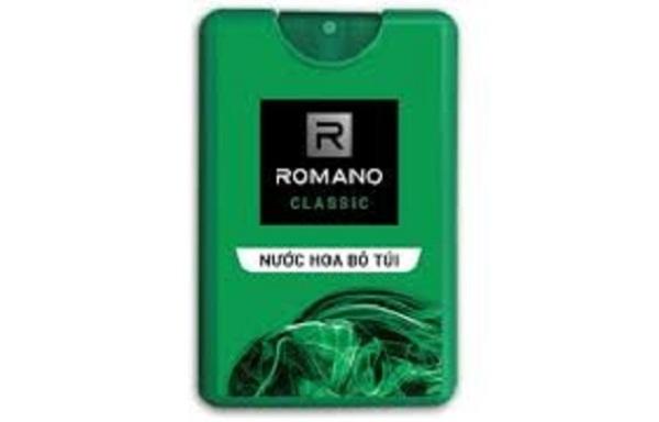 Nước hoa bỏ túi Romano classic 18ml ( hàng tặng)
