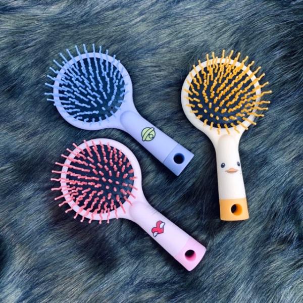 Lược chải tóc có gương- in hình kute ❤️FREESHIP❤️ lược chải tóc