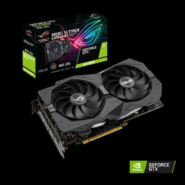 Card Màn Hình VGA ASUS ROG-STRIX-GTX1650S-4G-GAMING GeForce GTX 1650 SUPER 4GB GDDR6 -  Hàng Chính Hãng