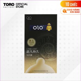 [Hộp 12 cái] Bao cao su OLO0.01 Black - Siêu mỏng, kéo dài thời gian TORO FACTORY thumbnail