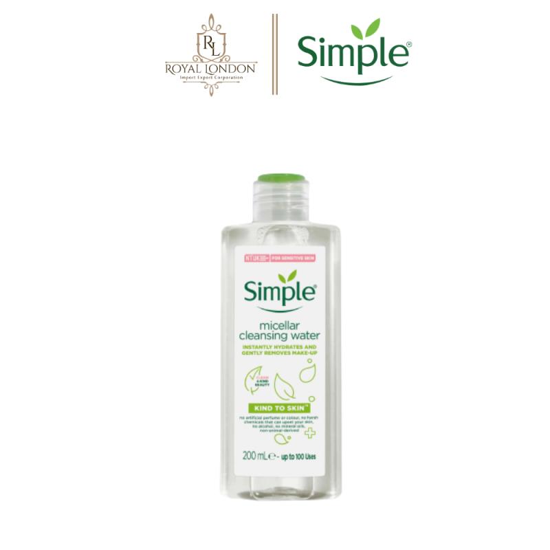 Nước Tẩy Trang Dịu Nhẹ Simple Kind To Skin Micellar Water 200ml