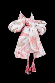 Khăn lanh họa tiết hoa thiết kế IVY moda MS 50A1117 thumbnail