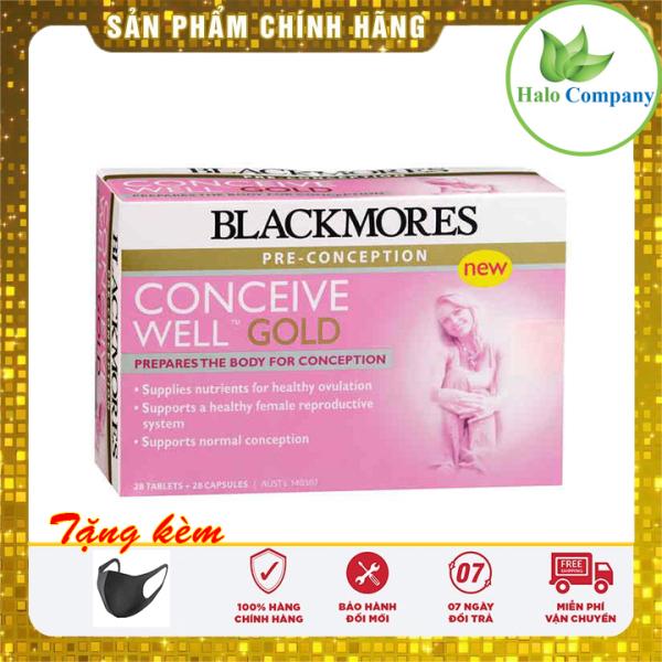 Tăng khả năng thụ thai Blackmores Conceive Well Gold 56 viên