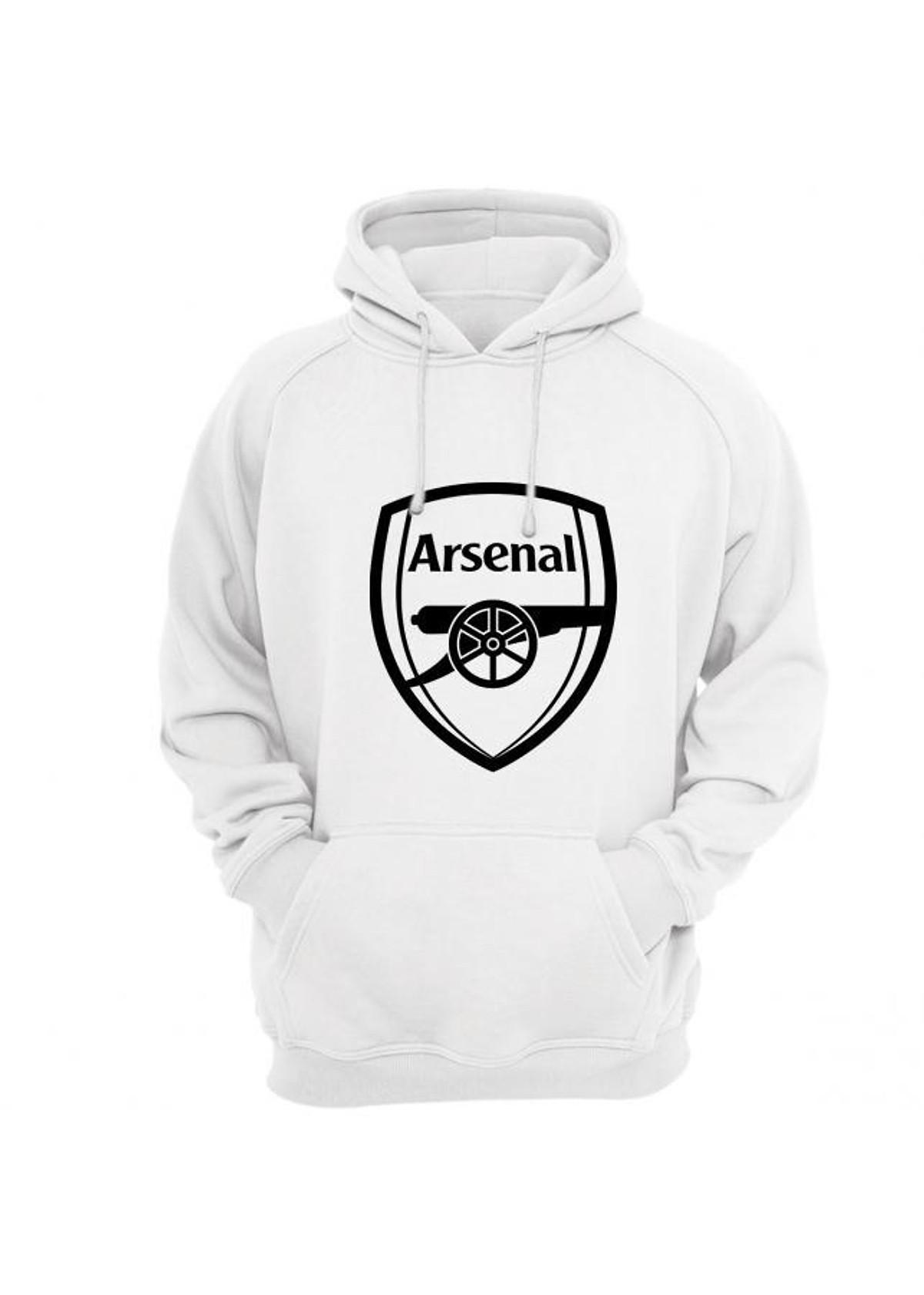 Xả Hàng Số Lượng Cực Ít Áo Hoodie Logo Arsenal