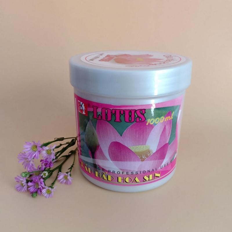 [SALE]Dầu hấp dưỡng tóc hoa Sen (1000ml)