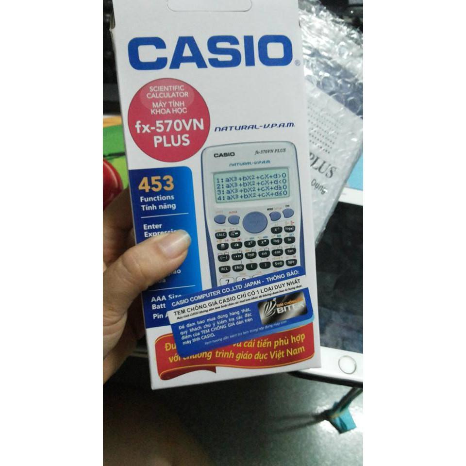 Mua HÀNG THAILAN - LỖI ĐỔI MỚI - Máy tính CASIO FX 570VN Plus