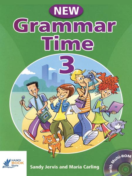 New Grammar Time Student's Book 3 (Sách màu ) - Hanoi bookstore
