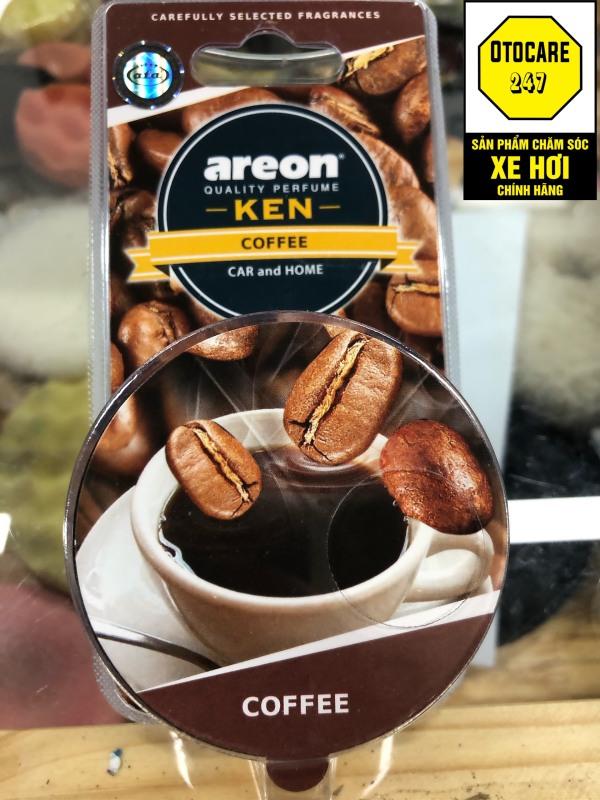 Sáp thơm ô tô AREON hương CAFE – Areon Ken Coffee