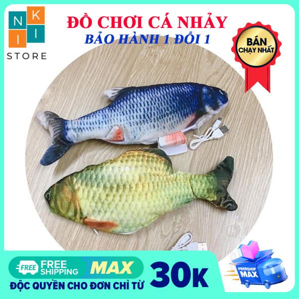 [Video thật] Đồ Chơi Cá Nhảy Vui Nhộn - Cá nhảy đồ chơi - NiKi Store