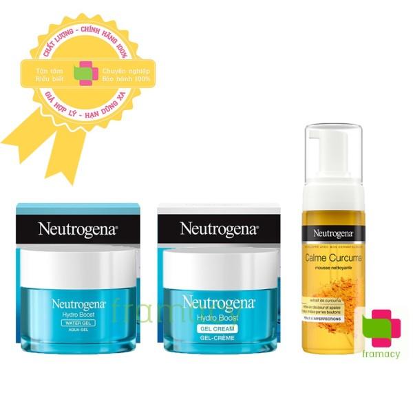 Kem dưỡng ẩm Neutrogena Hydro Boost Water Gel (da dầu)/Gel Cream (da khô), (48g) cho mọi lứa tuổi giá rẻ