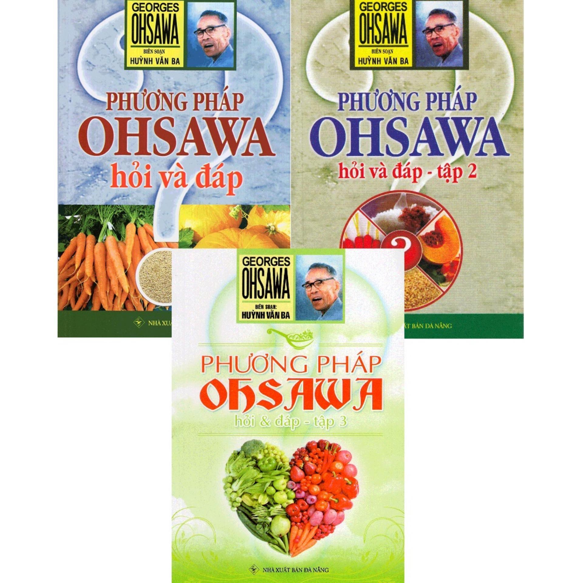 Mua Phương Pháp Ohsawa Hỏi Và Đáp - Bộ 3 Tập