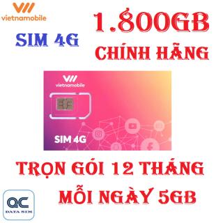 Sim 4G vietnamobile 1.800GB trọn gói 12 tháng mỗi ngày 5GB 1103 thumbnail