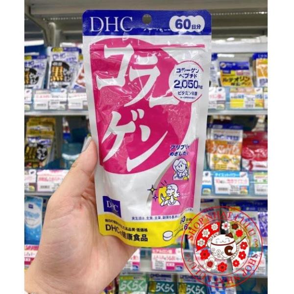 (MẪU MỚI 2020) Viên Uống Bổ Sung Collagen DHC 360 Viên 60 Ngày Nhật Bản nhập khẩu