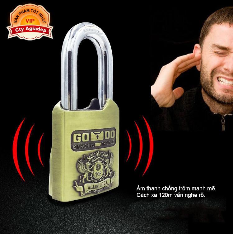 Khóa Báo động Siêu xịn TOP LOCK chống Cắt Phá - Bảo vệ nhà, cửa hàng, kho, Giải pháp Chống trộm Hữu hiệu