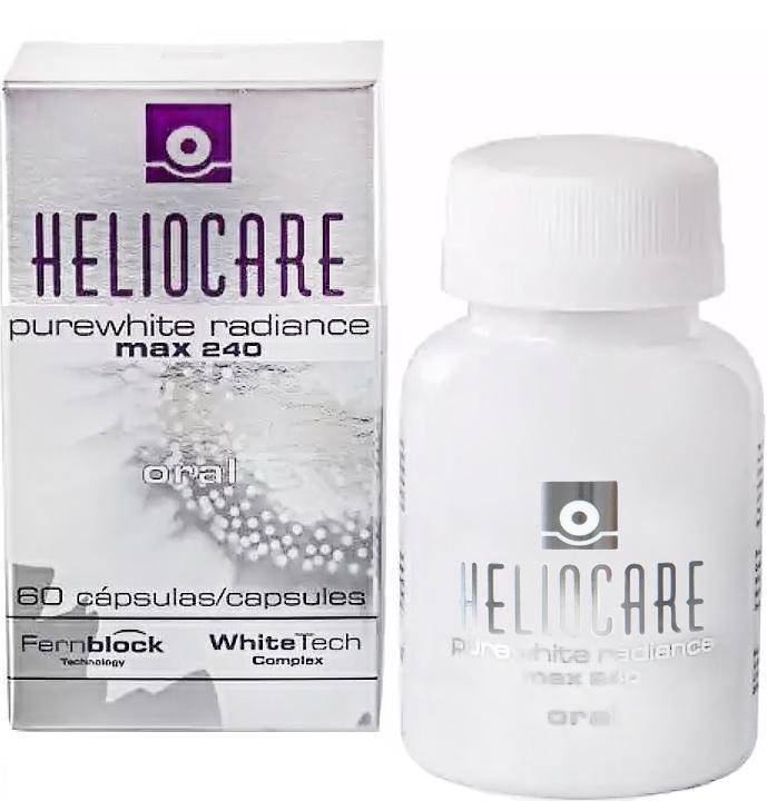 Viên uống trắng da cao cấp Heliocare Purewhite Radiance Max 240
