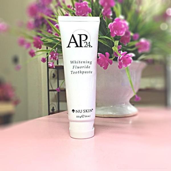 Kem đánh răng AP24 Whitening Fluoride Toothpaste 110g - Kem đánh răng Nuskin Ap24 trắng sáng - Kem đánh răng ngừa sâu răng, đánh tan mảng bám, khử mùi hôi miệng giá rẻ