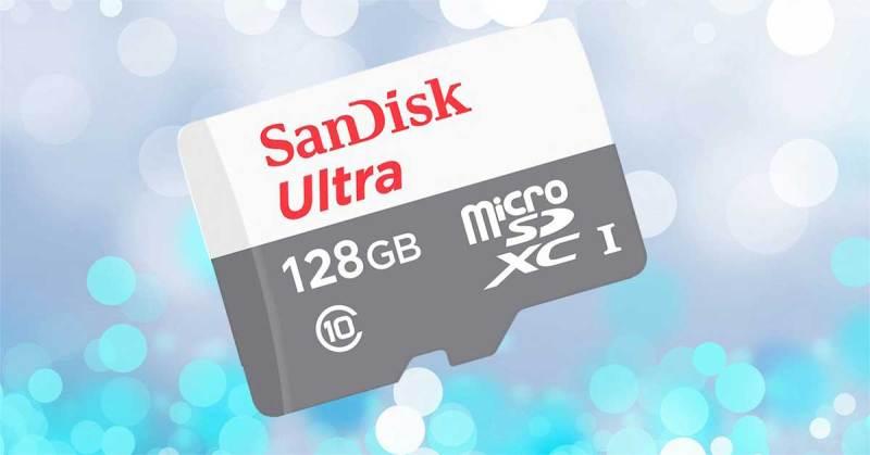 (CHÍNH HÃNG 100% BẢO HÀNH 5 NĂM) Thẻ nhớ SanDisk 128GB Ultra Class10 NEW 2020