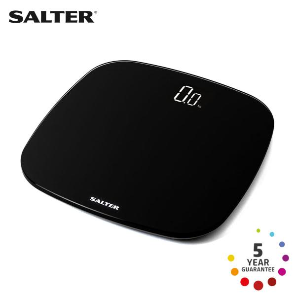 Cân sức khỏe điện tử ECO dùng pin sạc Salter 9221BK3R - Nhập khẩu UK