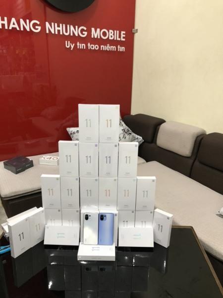 Điện Thoại Xiaomi Mi 11 lite 5G - 128GB Ram 8GB - Chip Snapdragon 780G Pin 4250 Khang Nhung - Hàng Nhập Khẩu