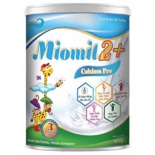 Sữa Miomil Canxium Pro - Bổ sung canxi giúp trẻ tăng trưởng chiều cao và phát triển toàn diện (Hộp 900g) thumbnail