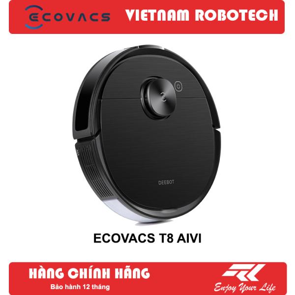 [Xả kho đón tết] Robot hút bụi lau nhà Ecovacs T8 AIVI- New 100%, nguyên seal - VIETNAMROBOTECH số 1 về hậu mãi, chăm sóc khách hàng