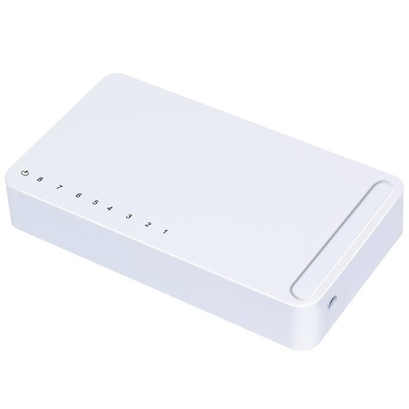 Bảng giá New Model 8 Port Gigabit Switch Desktop RJ45 Ethernet Switch 10/100/1000Mbps Lan Hub Switch 8 Portas EU Plug Phong Vũ