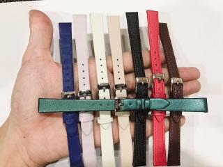 [HCM]Dây da đồng hồ Julius Hàn Quốc size 12 - nhiều màu tuỳ chọn thumbnail