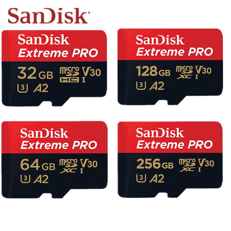 【New Be】Thẻ Nhớ MicroSDXC SanDisk Extreme Pro 16GB/32GB/64GB/128GB/256GB  170MB/s SDSQXCY-064G-GN6MA(Khe cắm thẻ quà tặng)