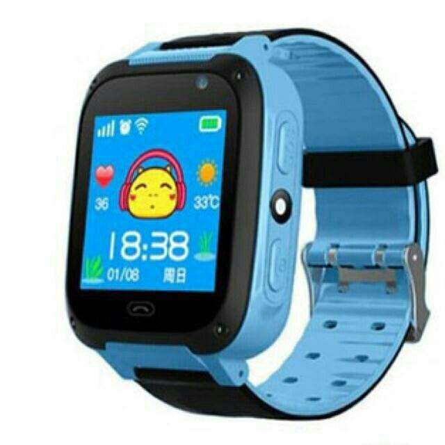 Đồng hồ định vị trẻ em Q90 (có camera)(xanh) bán chạy