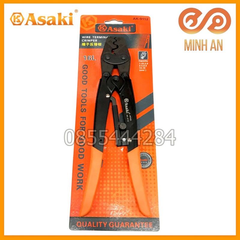 Kìm Bấm Cos 16L 1.25 - 16Mm2 Asaki Ak-9112 (Kềm Bấm Cốt 16L)