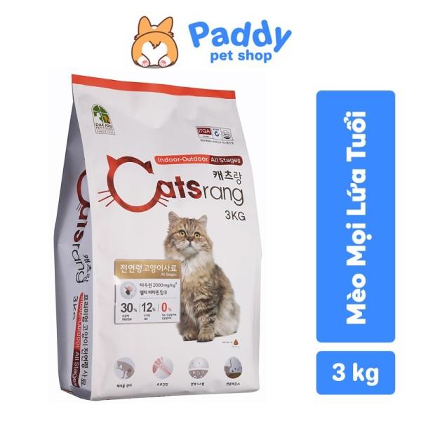 [3KG] Catsrang - Thức ăn hạt cho mèo mọi lứa tuổi